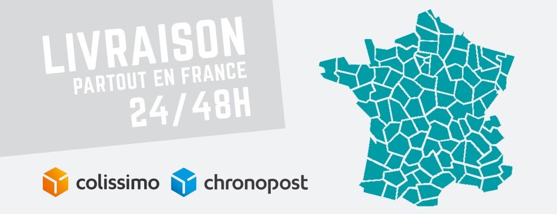 Livraison des produits de detailing partout en France en 24/48h !