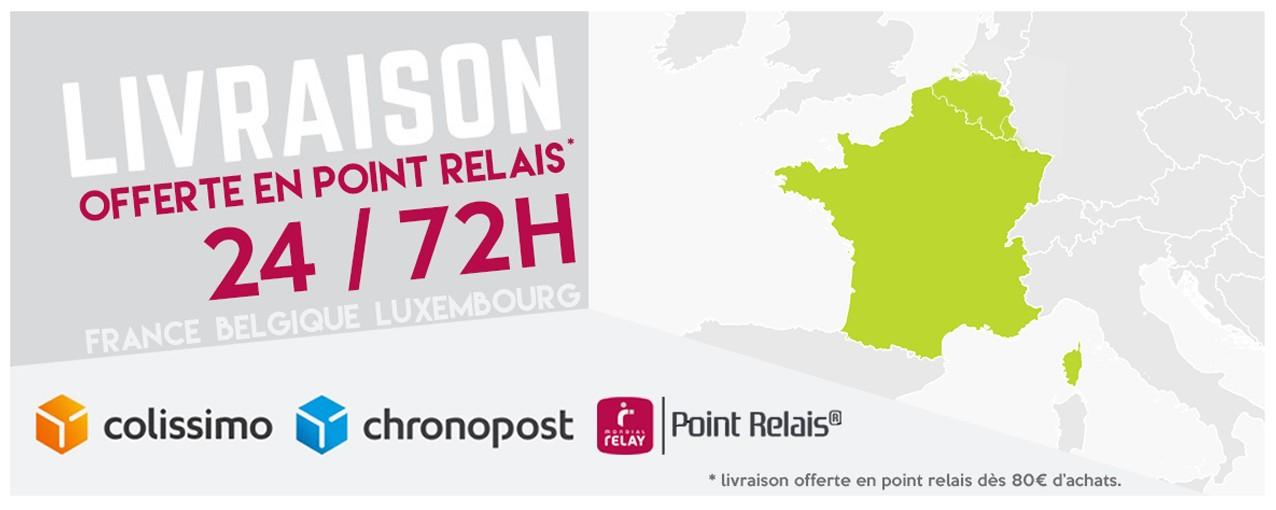 Livraison des produits de detailing partout en France en 24/72h !